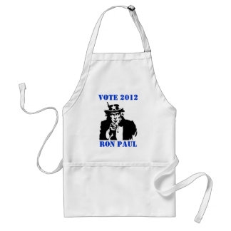 VOTE RON PAUL 2012 STANDARD APRON