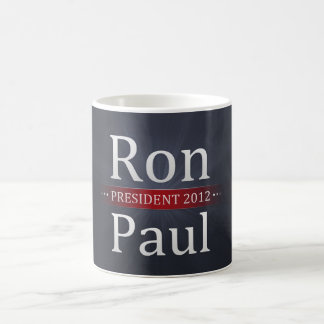 Vote Ron Paul for President in 2012 Coffee Mug