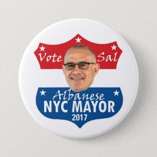 Vote Sal Albanese 3 Inch Round Button