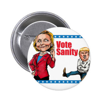Vote Sanity 2 Inch Round Button