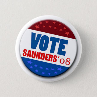 Vote Saunders 08 Button