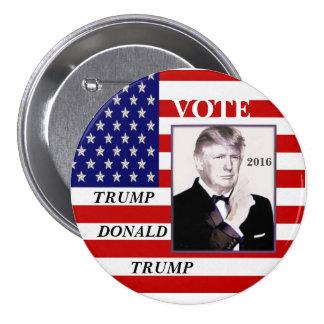 Vote Trump, Donald Trump 3 Inch Round Button