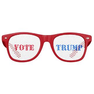 VOTE TRUMP, Red, White, and Blue - Retro Sunglasses