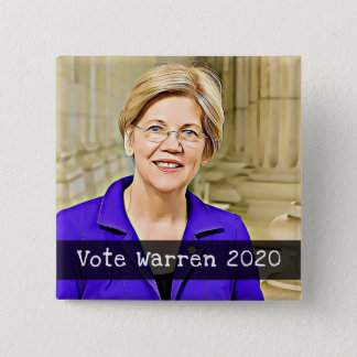Vote WARREN 2020 Presidential Election Button