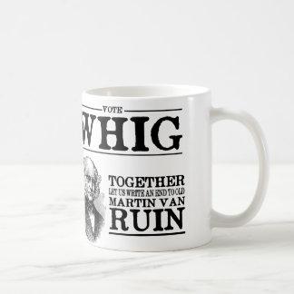 Vote Whig Coffee Mug
