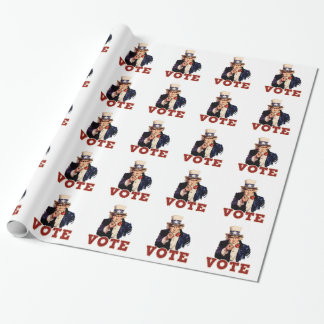 Vote Wrapping Paper