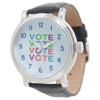 Vote Wrist Watch
