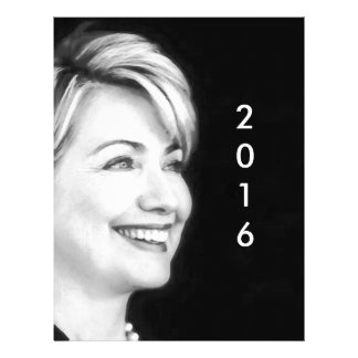 Vote Yes For Hillary in 2016 Customized Letterhead