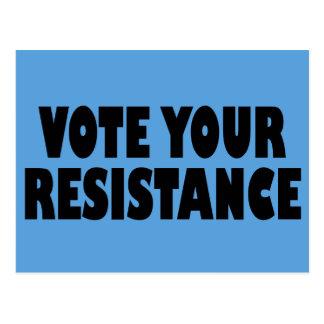 Vote Your Resistance Postcard