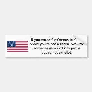 Voted for Obama Bumper Sticker