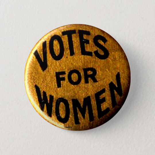 Votes For Women Button Zazzle Ca