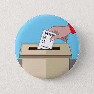 Voting Box 2 Inch Round Button