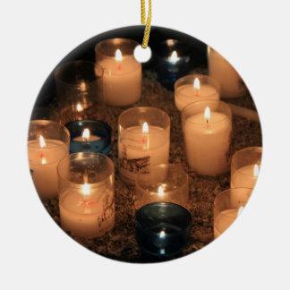 Votive candle Christmas ornament