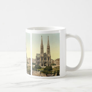 Votive Church, Vienna, Austro-Hungary rare Photoch Coffee Mug