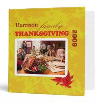 Votre classeur de thanksgiving de famille classeur