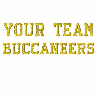 Votre nom Buccaneers d'équipe a brodé le tee -
