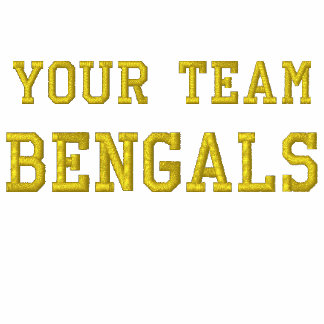 Votre tee - shirt brodé par Bengals de nom