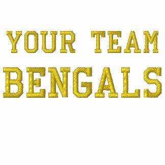 Votre tee - shirt brodé par Bengals de nom d'équip