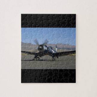 Vought F4U Corsair, Left Front_WWII Planes Puzzle