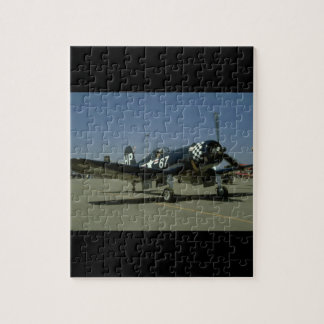 Vought F4U Corsair, Right Front_WWII Planes Jigsaw Puzzle
