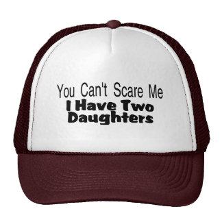 Vous biseautés m'effrayez que j'ai deux filles (2) casquettes