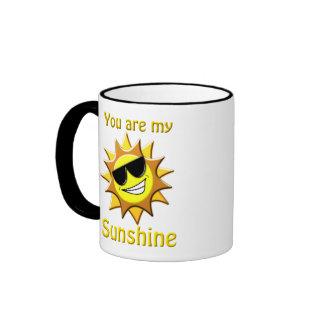Vous êtes mon soleil mug ringer