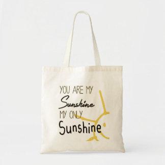 Vous êtes mon soleil sac en toile budget