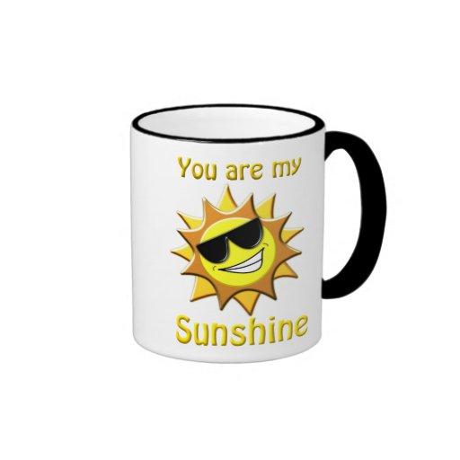 Vous êtes mon soleil tasse à café