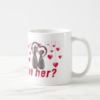 Vous l'aimez toujours ? mug blanc