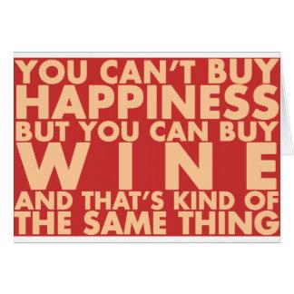 Vous ne pouvez pas acheter le bonheur mais vous p