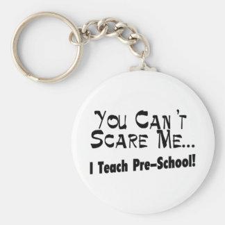 Vous ne pouvez pas m'effrayer que j'enseigne l'éco porte-clé