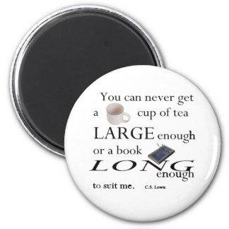 Vous ne trouverez jamais une tasse de thé magnet rond 8 cm