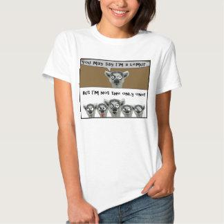 Vous pouvez dire que je suis une chemise de lémur tshirts