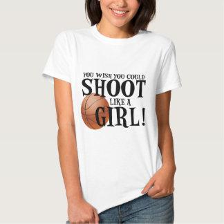 Vous souhaitez que vous pourriez tirer comme une t-shirts