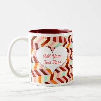 Vox Geo Femme Two-Tone Coffee Mug