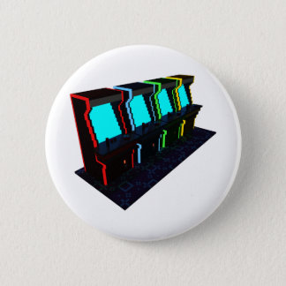 Voxel Art of Some Arcade Games 2 Inch Round Button