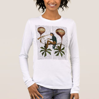 Voyage A La Lune Hot Air Balloon Long Sleeve T-Shirt