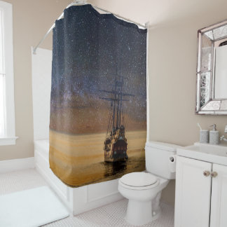 Voyage Among The Stars Shower Curtain