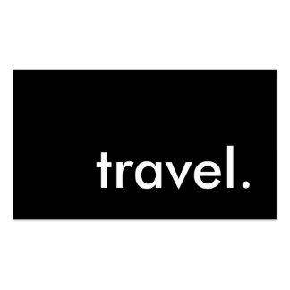 voyage carte de visite