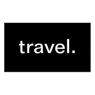 Voyage Cartes De Visite Professionnelles