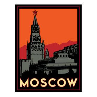 voyage d'art déco de Moscou Russie le Kremlin Cartes Postales