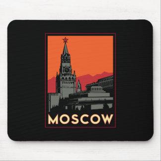 voyage d'art déco de Moscou Russie le Kremlin rétr Tapis De Souris