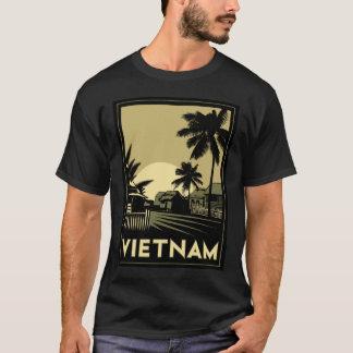 voyage d'art déco du Vietnam Asie du Sud-Est rétro T-shirt