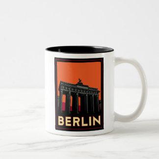 voyage de l'art déco oktoberfest de Berlin Allemag Mug À Café