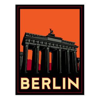 voyage de l'art déco oktoberfest de Berlin Carte Postale
