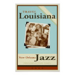 Voyage Louisiane Poster