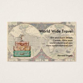 Voyage mondial Luggae et carte