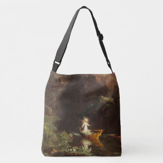 Voyage of Life Angel River Flowers Tote Bag