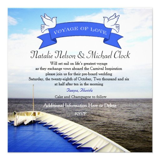 Birthday Cruise Invites 68 Birthday Cruise Invitation