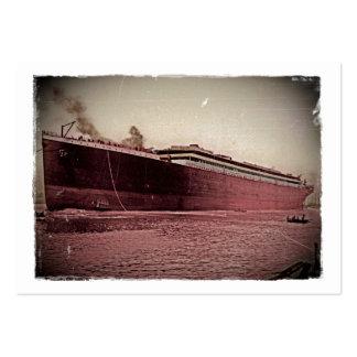Voyage titanique de RMS premier Cartes De Visite Professionnelles